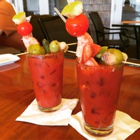 Photo taken at The Brant Point Grill at The White Elephant Hotel by Michael K. on 6/14/2015