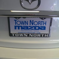 Photo taken at Town North Mazda by Nick on 10/4/2013