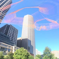 Photo taken at The Rose Kennedy Greenway by Hotin T. on 9/27/2015