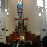 Photo taken at St.Jude Parish Church by Adrian G. on 10/28/2013