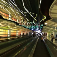 Photo taken at Chicago O'Hare International Airport (ORD) by Myra on 11/6/2013