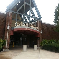 Photo taken at Oxford Valley Mall by Kristina O. on 9/13/2013
