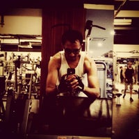 Photo taken at Gold Gym Thamrin city by azzam on 8/4/2015