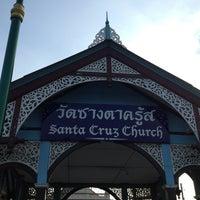 Photo taken at Santa Cruz Church by Anny E. on 12/27/2012