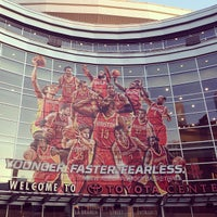 Photo taken at Toyota Center by Marla N. on 5/4/2013