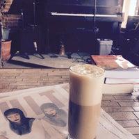 Photo taken at Le Dépanneur Café by Alexandra on 4/16/2016