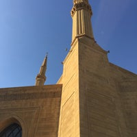 Photo taken at Mohammed Al-Amin Mosque by Leicht S. on 11/25/2016