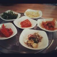 Photo taken at Da Sa Rang Korea BBQ Restaurant by Eric O. on 11/8/2012