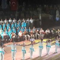 Photo taken at Stratonikeia Antik Tiyatro by Mina U. on 9/14/2014