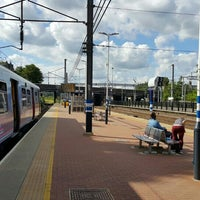 Photo taken at Alexandra Palace Railway Station (AAP) by Leonid B. on 7/17/2016