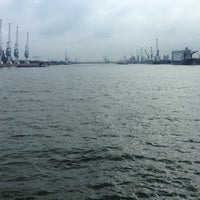 Photo taken at Vijfde Havendok by Thierry on 2/8/2013