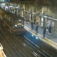 Photo taken at Farringdon London Underground Station by Andrew S. on 1/20/2013