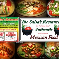 Photo taken at The Salsas Restaurant by The Salsas Restaurant on 9/30/2013