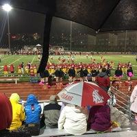 Photo taken at Newport High School by Joe W. on 10/25/2014