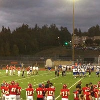 Photo taken at Newport High School by Joe W. on 9/20/2014