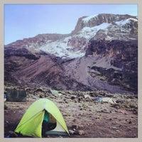 Photo taken at Mount Kilimanjaro by Ieva I. on 12/23/2012