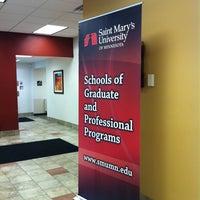 Photo taken at Saint Mary's University of Minnesota by Stacia V. on 7/31/2013