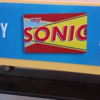 Photo taken at SONIC Drive In by Emily R. on 5/28/2013