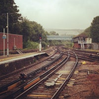 Photo taken at Lewes Railway Station (LWS) by Martin F. on 7/4/2013