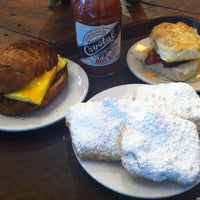 Photo taken at Bayou Bakery, Coffee Bar & Eatery by ko i. on 7/19/2013