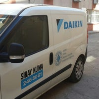 Photo taken at Daikin Yetkili Servis Şiray Klima Ltd.Şti by Rüstem Ş. on 2/11/2014
