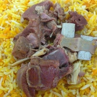 Photo taken at Arabian Kitchen by Ajami H. on 3/26/2014