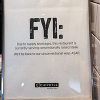 Photo taken at Chipotle Mexican Grill by Ryan H. on 8/11/2014