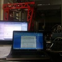 Photo taken at Endüstriyel Otomasyon Lab. by Pelin Y. on 5/19/2014