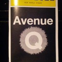 Photo taken at Avenue Q by Simon S. L. on 2/15/2013