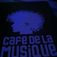 Photo taken at Cafe de La Musique by July T. on 7/11/2012