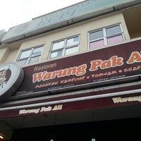 Photo taken at Warung Pak Ali Restaurant by Dak L. on 12/26/2012