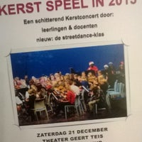Photo taken at Muziekschool Zuid-Groningen by Bas V. on 12/19/2013