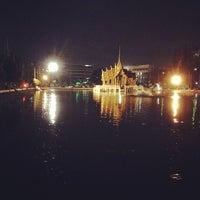 Photo taken at สระน้ำ มหาวิทยาลัยรามคำแหง by Aeror K. on 11/8/2013