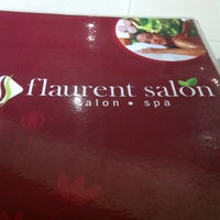 Photo taken at Flaurent Salon and Spa by Mitha A. on 11/11/2013