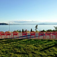 Photo taken at Olympic Sculpture Park by Kate K. on 6/22/2013