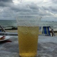 Photo taken at Sangthian Beach Resort by Arux H. on 6/25/2016