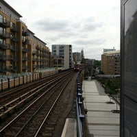 Photo taken at Limehouse DLR Station by Eddy B. on 6/29/2013