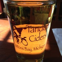 Photo taken at Tandem Ciders by Katie K. on 10/21/2012
