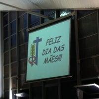 Photo taken at Igreja Nossa Senhora das Graças (Casa do Garoto) by Catarina C. on 5/9/2014