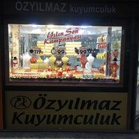 Photo taken at Öz Yılmaz Kuyumculuk by Cem Y. on 12/28/2016