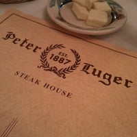 Photo taken at Peter Luger Steak House by Jeffrey L. on 4/28/2013