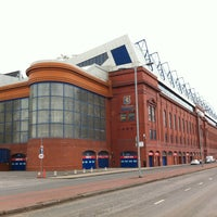 Photo taken at Ibrox Stadium by Ivan K. on 3/29/2013