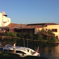 Photo taken at Hotel Cala di Volpe, Costa Smeralda by Karim E. on 8/4/2014