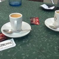Photo taken at Café Cerchas by Mon S. on 3/16/2014