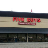 Photo taken at Five Guys by Anthony H. on 6/7/2013