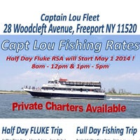 Photo taken at Captain Lou Fleet by Captain Lou F. on 3/21/2014