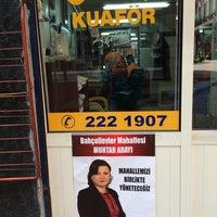 Photo taken at ceren kuaför by Yavuz A. on 2/26/2014