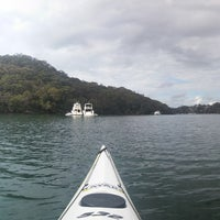 Photo taken at Sydney Kayak by Will B. on 8/15/2015
