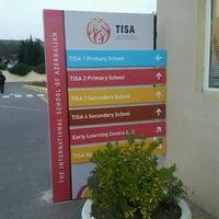 Photo taken at TISA - The International School of Azerbaijan by Cheryl J. on 11/14/2016