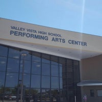 Photo taken at Valley Vista High School Performing Arts Center by Christopher G. on 5/21/2016